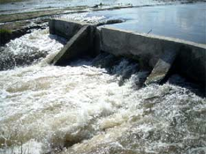 Le deuxième barrage, méthode traditionnelle