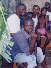 Cr�ation d'un centre pour enfants des rues � Kinshasa