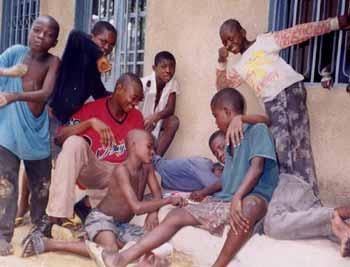 Ouverture d'une maison pour enfants de la rue � Kinshasa