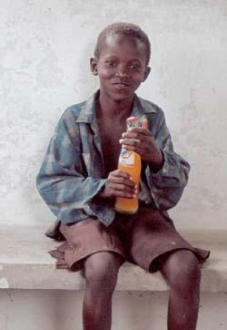 Enfants de la rue au Congo Kinshasa