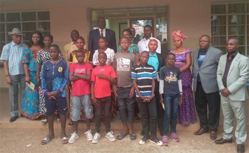 Réunification familiale d'enfants victime de trafic d'enfants à Tshikapa, RD Congo
