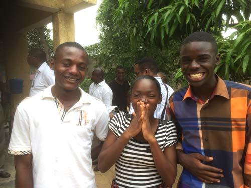 Des enfants des rues lauréats du baccalauréat au Congo