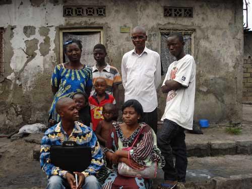 Enfant des rues de Kinshasa réunifié dans sa famille