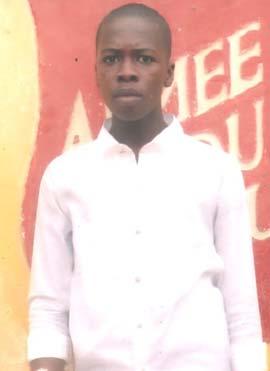 Bachelier du Congo, ex enfant des rues