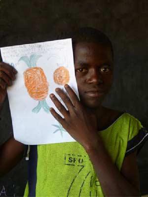 Kasondo, enfant des rues de Kinshasa