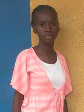 Bachelière du Congo, ex enfant des rues