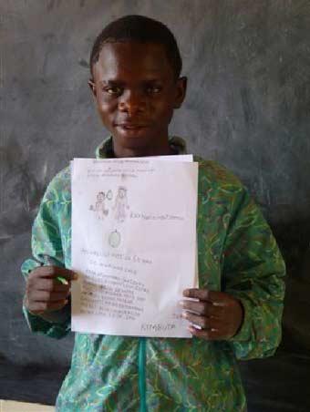 Lettre de pardon adressée à sa famille par un enfant des rues