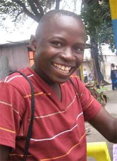 Magloire, enfants des rues de Kinshasa