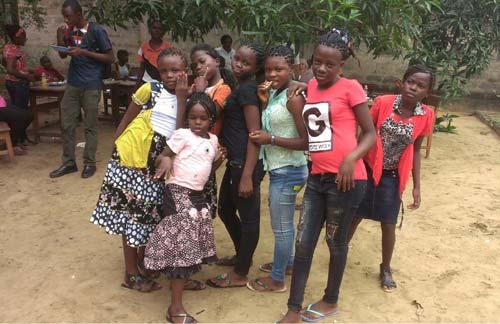 Noêl des enfants des rues à Kinshasa