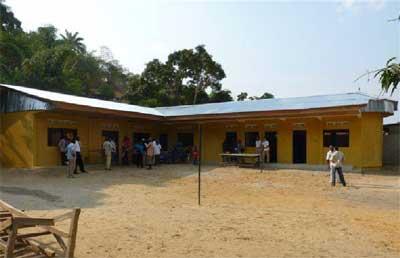 Ouverture d'un nouveau centre pour enfants de la rue à Kinshasa