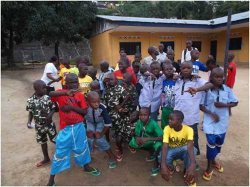 Nouvel An pour les enfants des rues de Kinshasa