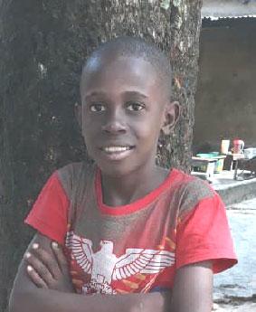 Matondo, enfant des rues de Kinshasa