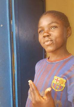 Obed, enfant des rues de Kinshasa