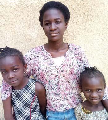 Sarah, Esther et Rachel, enfants abandonnées à Kinshasa