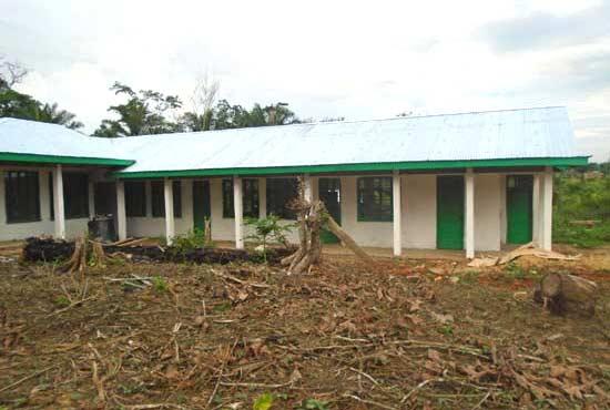 Centre de santé du Village Orange de Kabweke au Nord Kivu en RD Congo