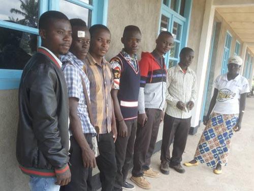 Les enseignants de l'école de Visiki en RDC.