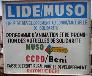 Mutuelle de Solidarité MUSO au Nord Kivu, RD du Congo