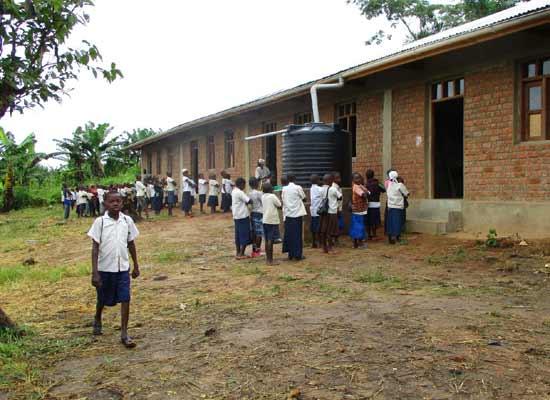 L'école du Village Orange de Kabweke, Nord Kivu en RD Congo