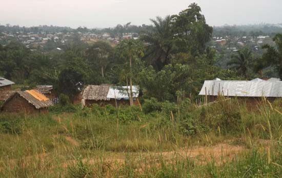 Le village de Njiapanda-Belle, province de l'Ituri en RD Congo