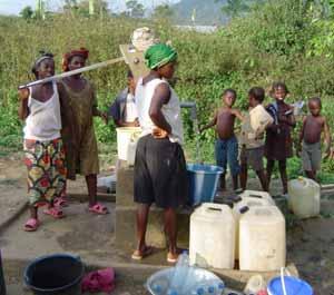 Projet d'adduction d'eau au Togo