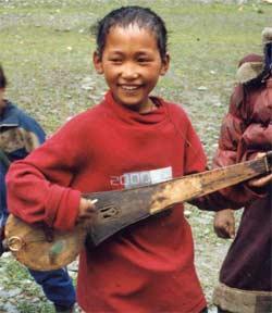 Jamyang, jeune musicien prodige