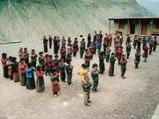 Ecole de Ting Kyu au Népal, Nursery