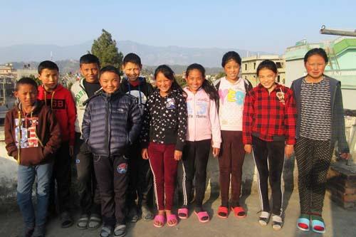 Les 10 nouveaux étudiants de Katmandou