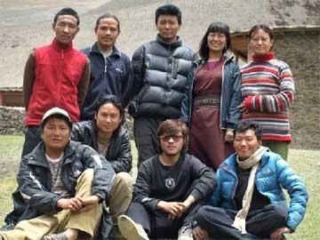 Les professeurs de l'école de Ting Kyu au Népal