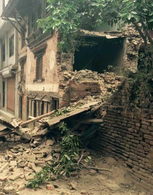 Séisme au Népal 25 Avril 2015
