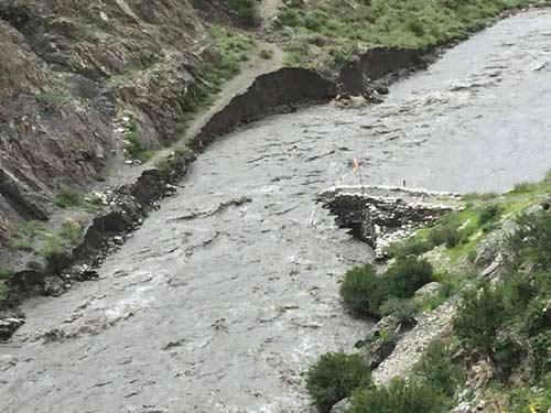 Les pluies torrentielles de la mousson ont dévasté les sentiers du Haut Dolpo au Népal