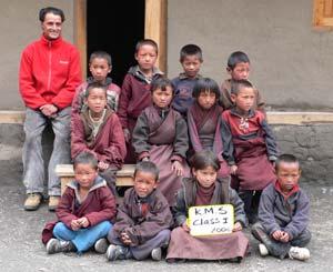 Les enfants de la classe 1