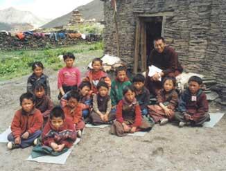 Parrainage d'enfants au Népal
