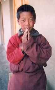 Dorje Gurung, ancien élève de la classe 3