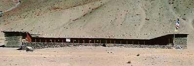 Ecole de Ting Kyu dans la vallée de Panzang au Népal