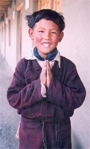 Karap Dorje, ancien élève de la classe 3