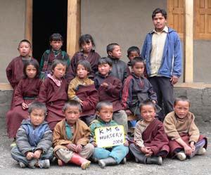 Les enfants de la classe de Nursery