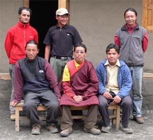 Les professeurs de la Kula Mountain School