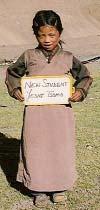 Yesni Tsamo, nouvelle élève de la classe de Nursery