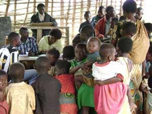 Régularisation de l'enregistrement des naissances à Mandelya, groupement Mwenye
