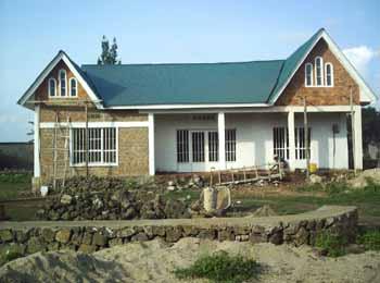 Le siège du Point d'Ecoute pour enfants vulnérables au Rwanda