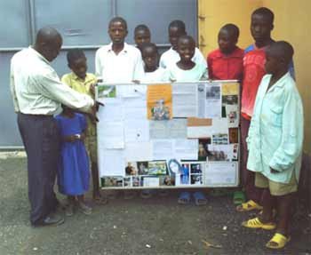 Le courrier des parrains du Rwanda à leurs filleuls