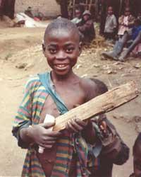 Le bois est une denrée rare au Rwanda