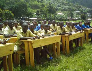 Scolarisation des orphelins du sida