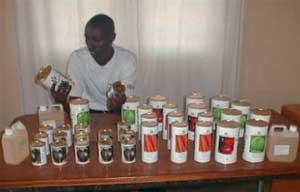 Semences potagères pour les orphelins du sida au Rwanda