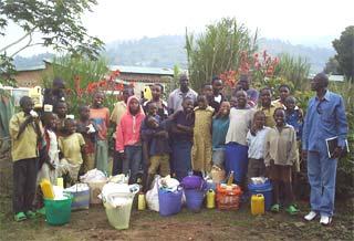 Aide alimentaire aux orphelins du sida