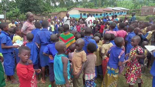 Colonie de vacances pour les enfants vulnérables de Basa et Gisenyi au Rwanda