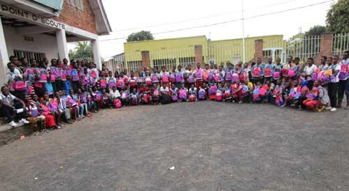 Rentrée scolaire pour les enfants de Gisenyi au Rwanda