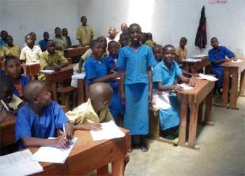 Réinsertion scolaire des enfants des rues