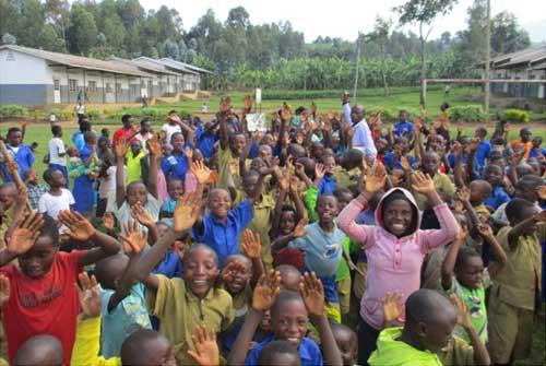 Organisation d'une colonie de vacances pour enfants vulnérables et enfants des rues de Gisenyi au Rwanda