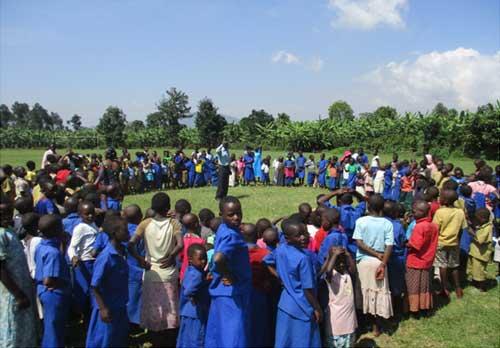 Camp de vacances pour les orphelins, les enfants des rues et tous les enfants vulnérables de Gisenyi au Rwanda